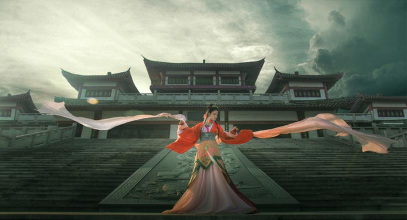 中国古代コスプレ